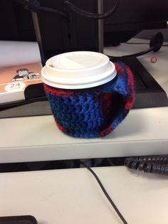 Coffee cosy to keep my hand and coffee warm