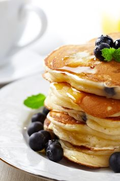 Fluffy Pancakes Breakfast Recipe