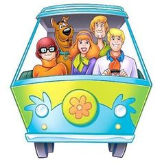 Scooby Doo Mystery Machine Peel and Stick Giant Wall Decal - kids' room Desenho Scooby Doo, Scooby Doo Images, Scooby Doo Mystery Incorporated, Sylvester The Cat, Morning Cartoon, Anime, Cartoon Characters, Childhood Memories, Wall Decals