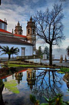 Sanctuary of Bom Jesus do Monte, Braga, Portugal:)Photo by Joaquim Rios
