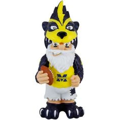 Michigan Wolverines Team Mascot Gnome