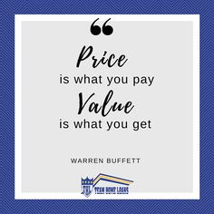 Focus on the value your home will bring!