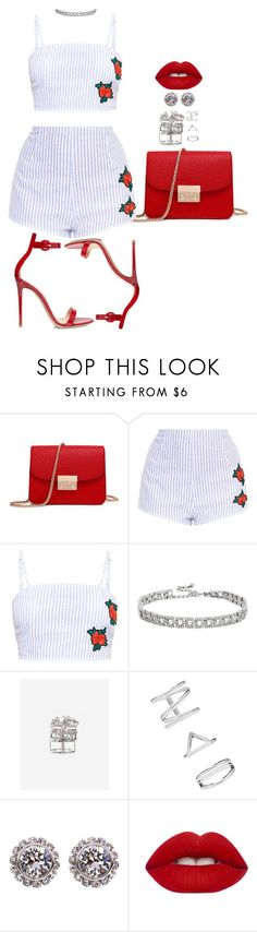 Untitled #2796 by mrkr-lawson on Polyvore featuring Gianvito Rossi, Express, Ted Baker, Kenneth Jay Lane, Forever 21 and Lime Crime