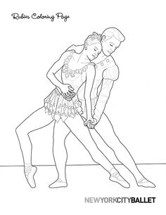 Printable Ballerina Drawing from NYC Ballet    http://www.nycballet.com/NYCB/media/NYCBMediaLibrary/Images/Educate/FamilySaturdays/NYCB-Rubies-Coloring-Page.jpg