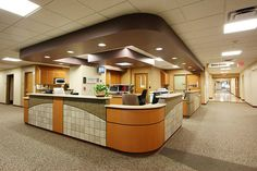 Kit Carson County Memorial Hospital - Central Nurses Station by The Neenan Company, via Flickr
