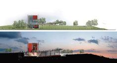 Trois-Rivières Amphitheater Competition proposal / ARCHITEM