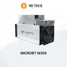 Whatsminer M30S fromMicroBTminingSHA-256 algorithmwith a maximum hashrate of 90Th/sfor a power consumption of3344W.