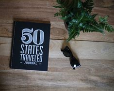 A journal to record your memories as you travel through each of the 50 states.  Some questions will ask simple things such as your date of arrival while others will ask for a deeper reflection of your journey. The questions are open for you to take them in any direction as you please. There are no rules. Handcrafted in Denver, CO