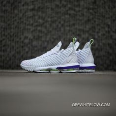 the latest 789b9 44e45 Nike LeBron 16 Buzz Lightyear AO2588-102 White Multi-Color-Hyper Grape-Volt  Sports Shoes Top Deals