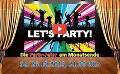 ... es ist soweit – Einladung zu unserer ME-Party