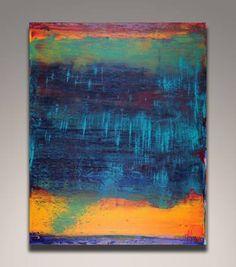 "Saatchi Art Artist Nestor Toro; Painting, ""Perhaps a sunset"" #art"