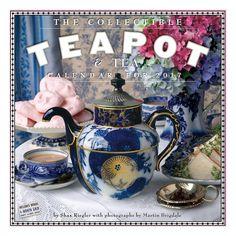 Collectible Teapot & Tea 2017 Calendar (Paperback) (Shax Riegler)