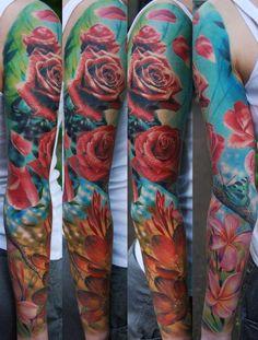 den yakovlev 43  - 35  Realistic Tattoos by Den Yakovlev  <3 <3