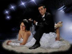 Si le marié décide de monter la mariée comme un cheval, dissuadez-en le gentiment. | Les pires photos de mariage