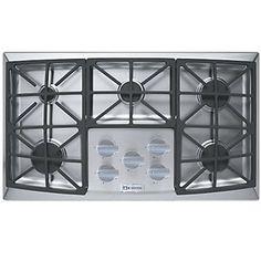 verona 36 inch gas cooktop front control