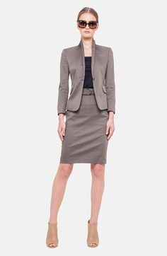 Akris punto One-Button Jacket and matching pencil skirt | Nordstrom 2015