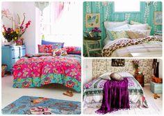 Resultado de imagen para dormitorio vintage hippie