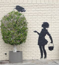 art, creative, Graffiti, Inspiration, showcase, stencil, Street, works, Banksy,