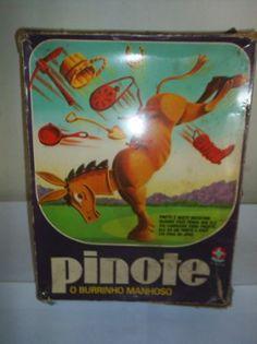 É da sua época?: [1970] Brinquedo Pinote: O Burrinho Manhoso