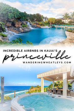 Are you looking for fabulous places to stay in Princeville, Kauai, Hawaii? Here are 12 Incredible Airbnbs in Princeville   the top things to do in Princeville during your Kauai vacation! I where to stay in Kauai I accommodation in Kauai I Kauai accommodation I Airbnbs in Hawaii I accommodation in Hawaii I where to stay in Hawaii I places to stay in Kauai I Hawaii Airbnbs I USA travel I places to stay in Hawaii I things to do in Kauaii I things to do in Hawaii I #Hawaii #Princeville #Kauai Usa Travel Guide, Travel Usa, Travel Guides, Unique Hotels, Best Hotels, Holiday Destinations, Vacation Destinations, Princeville Kauai