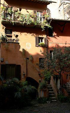Via del Pellegrino, Rome