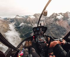 #GoPro #WCW @bearfoottheory  When I was down in New Zealand's Fiordland National Park I got a birds eye view while flying with Southern Lakes Helicopters over Milford Sound. Once I was up there the size of the mountains really took me by surprise. From the town of Te Anau you can only see a sliver of the range and the trails only provide access to a small chunk.  I wore my #GoPro on a headstrap during the flight. The wide angle was ideal for quickly capturing these BIG New Zealand landscapes…