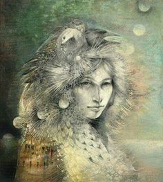 Stories are medicine. I have been  taken with stories since I heard my first. They have such power; they do not require that we do, be, act, anything -- we need only listen. ― Clarissa Pinkola Estés Women Who Run With the Wolves: Myths and Stories of the Wild Woman Archetype art credit: seven moons passing by Susan Seddon Boulet. WILD WOMAN SISTERHOODॐ #WildWomanSisterhood #wildwoman #clarissapinkolaestes #motherclarissa #repinned #wildwomanmedicine #EmbodyYourWildNature
