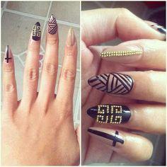 stiletto nails | Tumblr