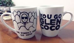 """Mean Girls! [Mean Girls Assorted Mugs and other 28 So Fetch Items Every """"Mean Girls"""" Fan Needs Right Now] Coffee Shop, Coffee Cups, Tea Cups, Mean Girl Quotes, Glen Coco, Diy Mugs, Regina George, Cute Mugs, Funny Mugs"""
