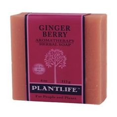 Ginger Berry Aromatherapy Herbal Soap! $6.99