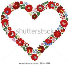 stock-vector-heart-frame-made-with-authentic-traditional-hungarian-matyo-embroidery-motifs-283816892.jpg (450×426)