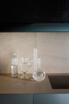 Glass collection// A Family House in Mantua, Italy : Remodelista