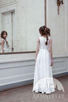 Vue d'arrière de corset avec jupe de Renaissance du style florentin d'ArmStreet