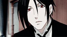 Kuroshitsuji + most attractive character → Sebastian Michaelis