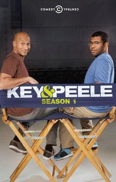 Key and Peele Comedy Central TV Show Poster 11x17