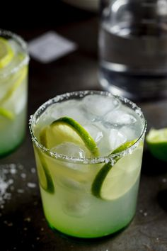 Chilli-infused Margaritas #drinks #cocktails #alcohol