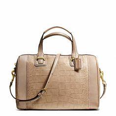 Coach Bleeker Canvas Suitecase Email smilesmoreaolcom for your