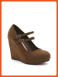 27dd7a2dcc7 Faux Suede Double Strap Platforms (Wide Width) - Flats for women ( Amazon ·  Green WedgesList StyleFlatsSandalsPlatformsTorridLinkOlive ...