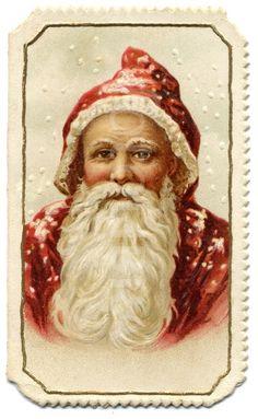 Victorian Father Christmas | Victorian Father Christmas #Santa | St. Nicholas