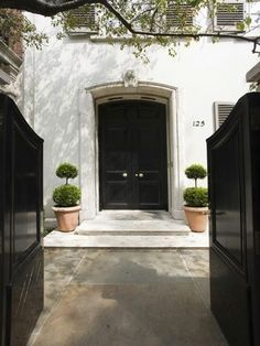 Bunny Mellon's Upper East Side Townhouse via Curbed NY