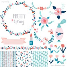 Description     Lucy Banaji     License Types     FAQ     Reviews (0)  Pretty, trend inspired spring illustrations and patterns by Lucy Banaji. For fashionable, feminine designs.