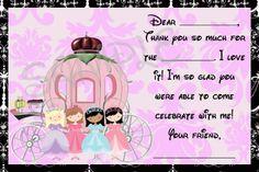 Princess carriage  Invitations 15 | Princess Carriage Birthday Invitation Printable Party DiY Invites