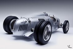 1936 CMC Auto Union C-type HillClimber; I love the sound of the engine on this car; search it out on You Tube, you'll love it.