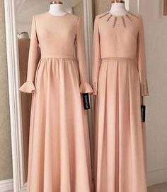 Fashion hijab dress gowns muslim women 40 new ideas Hijab Gown, Hijab Dress Party, Dress Prom, Trendy Dresses, Elegant Dresses, Nice Dresses, Abaya Fashion, Fashion Dresses, Fashion Muslimah