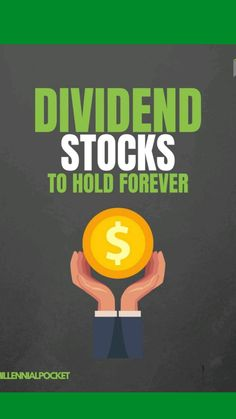Dividend Stocks, Investing Money, Saving Money, Stock Advice, Hold On, Dividend Investing, Stock Market Investing, Work From Home Jobs, Life Advice