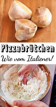 So müssen Pizzabrötchen schmecken: Außen kross, innen schön fluffig! Alle Ti… This is how pizza rolls must taste: crispy on the outside, fluffy on the inside! All tips and tricks for you can find here. Easy Snacks, Easy Healthy Recipes, Easy Meals, Pizza Recipes, Snack Recipes, Dessert Recipes, Dessert Blog, Recipes Dinner, Brunch Recipes