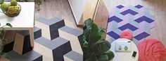 The secret of modules; or how to variate a caraWonga carpet Contemporary, Modern, Carpets, The Secret, 3 D, Shapes, Flooring, Rugs, Pattern