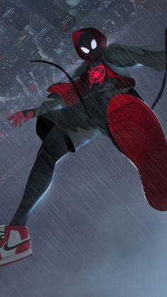 Spider Man Into The Spider Verse 2018 Movie Fan Art 4k Wallpaper