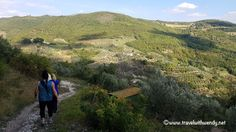 Hiking the hills of Umbria!  Cooking in Italy - Roman aqueducts and more!