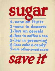 Sugar rationing poster from wwII should do this... it worked then and now. Replace sugar with honey.